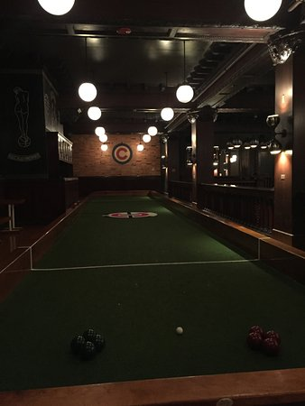Full-sized Indoor Bocce Ball Court - Picture of Chicago Athletic ...