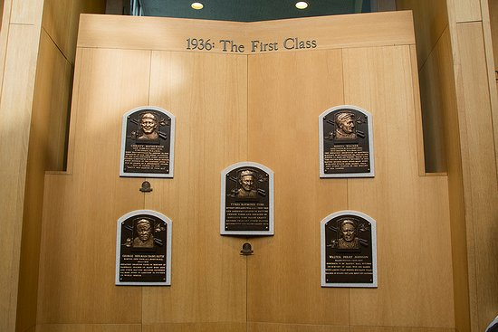 Cooperstown, estado de Nueva York: Hall of Fame, The Frist Class from 1936