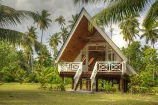 Alphonse Island, Seychellerna: One of the private bungalows
