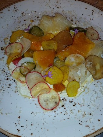 Cabarita Beach, Australië: Pickled vegetables with house made ricotta