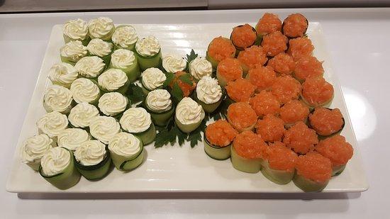 Busnago, Italien: i sushi cosi buoni e belli si trova solo a sushiway venite a provare..:)
