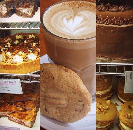 Нью-Плимут, Новая Зеландия: Deli Cabinet Desserts