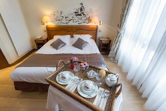 Chambre Luxe Standard - Picture of La Grange de Conde, Conde-Northen ...