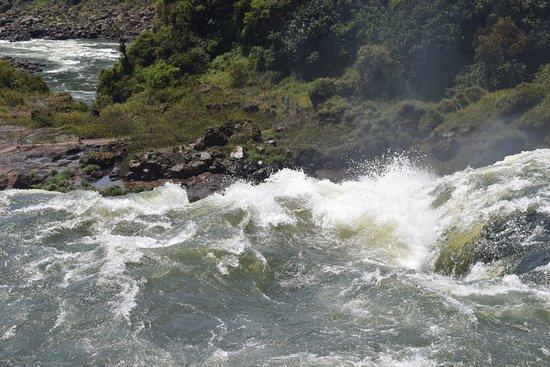 Parque Nacional Iguazú, Argentina: Lado Argentino, pasarela Circuito Superior, Salto San Martín