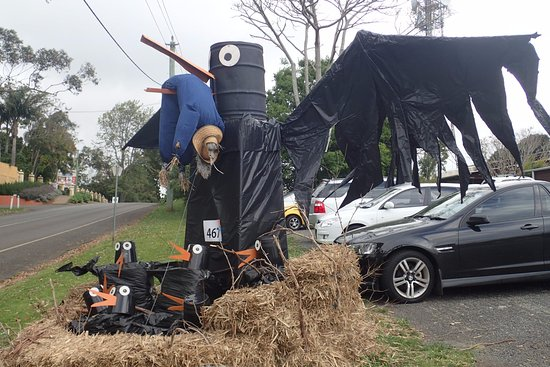 "Eagle Heights, Australia: scare ""crow"" for the local competition"