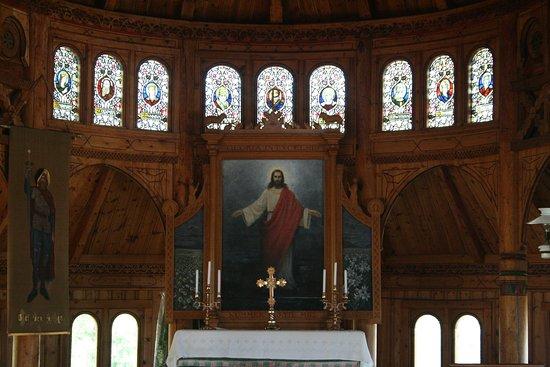 Balestrand, Norvegia: Altar