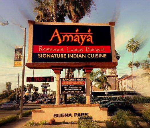 Signature Indian Cuisine Picture Of Amaya Restaurant