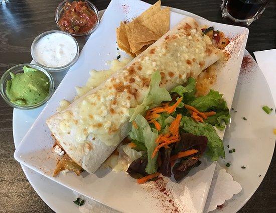 Dietikon, Suiza: Enchiladas, wirklich lecker!!!
