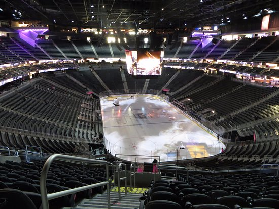 View from Sec 120 Row P Picture of T Mobile Arena Las Vegas