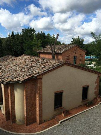 Acquaviva di Montepulciano, Italia: View from 2nd floor bedroom