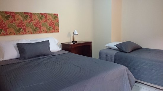 Managua Department, Nicaragua: Full bed room with twin bed.