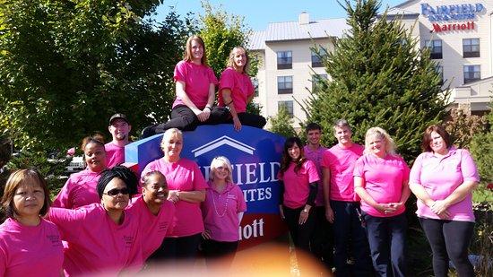 Fairfield Inn & Suites Cumberland: Wonderful Management and Staff at Fairfield Cumberland