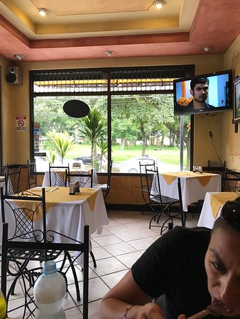 Yorgos: The breaded steak (carne empanizado) and the octopus ceviche were absolutely amazing. But the re