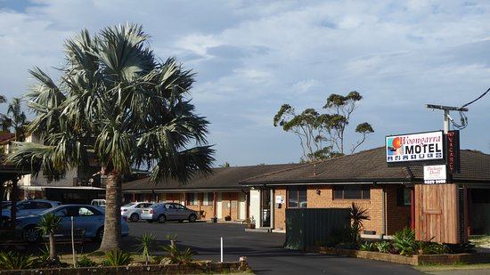 North Haven, Australia: Motel entry
