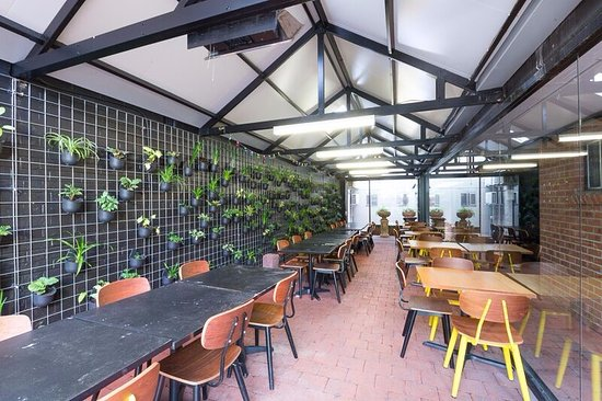 The Village Surry Hills: Covered outdoor dining area