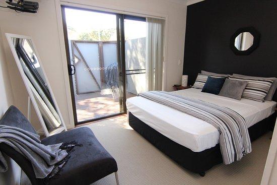 Blueys Beach, Australia: Master Bedroom Villa 4