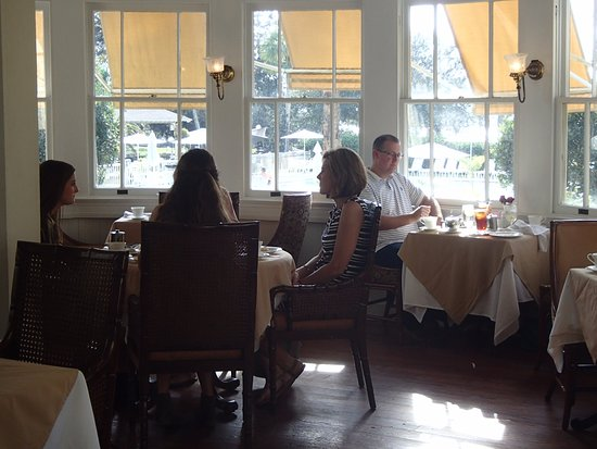 grand dining room and the jekyll island club hotel - picture of