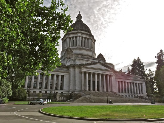 Olympia Capitol Campus Map.View Of The Capitol Building Picture Of Washington State Capitol