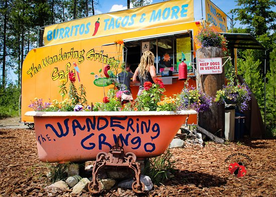 Columbia Falls, MT: The Wandering Gringo food truck near Glacier National Park