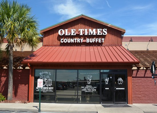 Ole Times Country Buffet: Southeastern chain centered in Southern Ga and Northern Florida