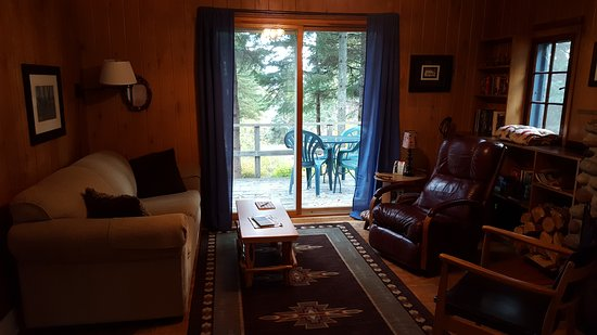 Lutsen, MN: Woodland cottage