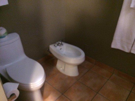 Desert Pearl Inn: toilet with bidet
