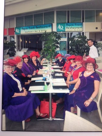 Labrador, Australia: Gorgeous ladies in red! Thank you for spending your special day with us!