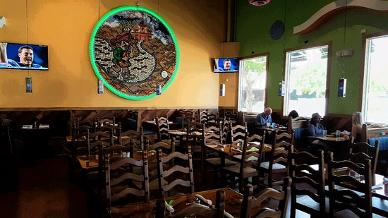 La Bamba Mexican And Spanish Restaurants Dining Room