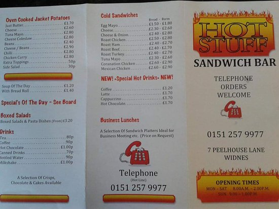 Inspirational Hot Stuff Sandwich Bar Great food good prices and friendly staff we Luxury - Contemporary Bar Stuff New