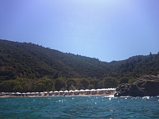 Manassu Beach - the area reserved for morning wedding party