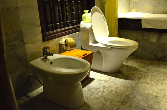 Old Style Bidet And Toilet Picture Of Vinh Hung Heritage Hotel