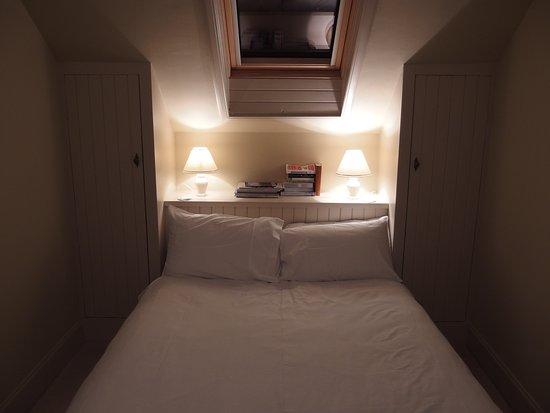Assynt, UK: Schlafzimmer im Dachgeschoss.