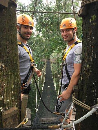 Cable Jungle Adventure: Fun, but no adrenaline