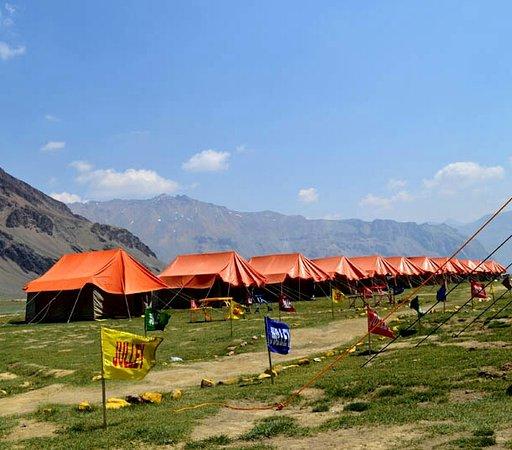 Goldrop Camps Sarchu and Sissu