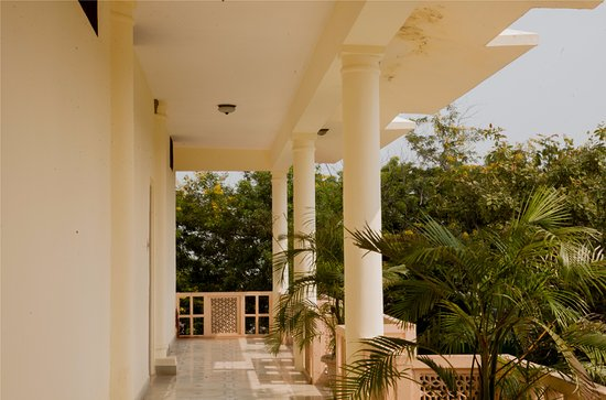 Hotel Chitvan : entrance to standard rooms