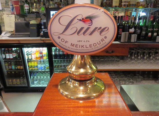 Meikleour, UK: The local ale