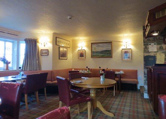 Meikleour, UK: The bar area