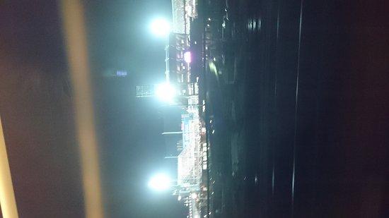 Chugoku, Japan: 新幹線車内からマツダスタジアムが見られます。