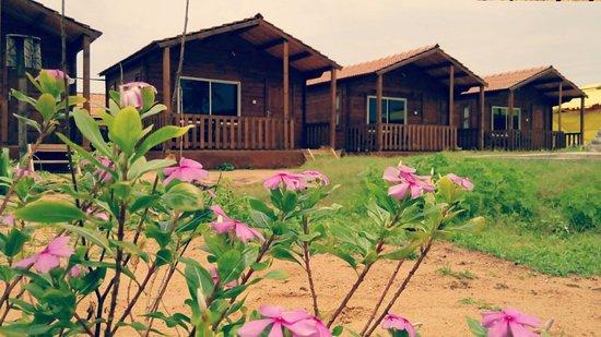 Saunta Vaddo, India: New Garden Facing Beach Cottages