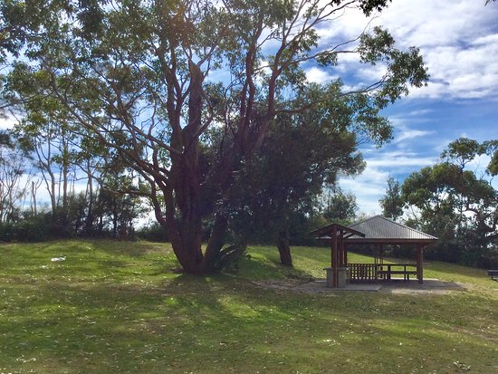 Huskisson, Australië: Covered picnic area and BBQ