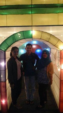Sleman, Indonesia: Aneka Lampion hias ini menjadi favorit pengunjung untuk berfoto