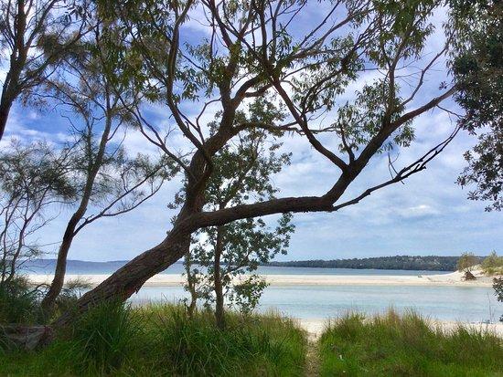 Huskisson, Australien: Lake area