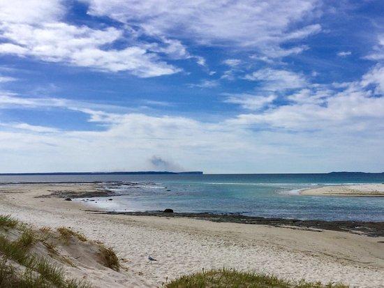 Huskisson, Australien: The beach