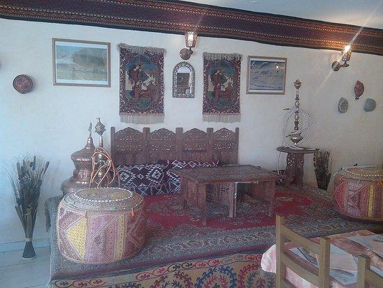 Puivert, Francia: Magnifique décoration de la salle