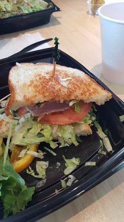Gilroy, CA: Tuna Filet Sandwich