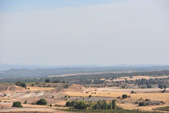 Penaranda de Duero, Hiszpania: Campos de Castilla desde el Castillo de Peñaranda.