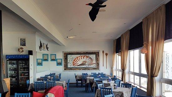 Chokka Block Restaurant : seating
