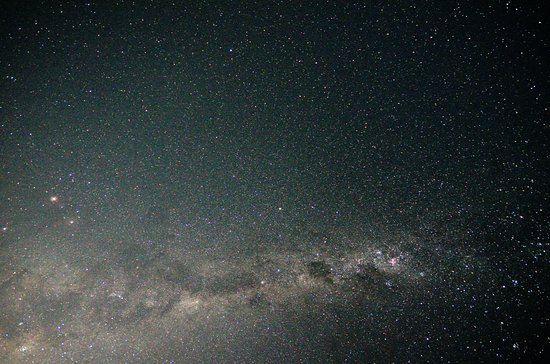 Paradise Valley Lodge : milky way - photo taken at the yard