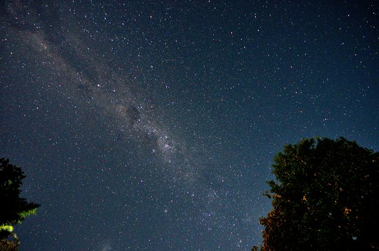 Paradise Valley Lodge: milky way - photo taken at the yard