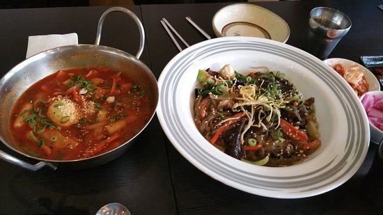 Greater Melbourne, Australia: Ddeok bokki and Japchae
